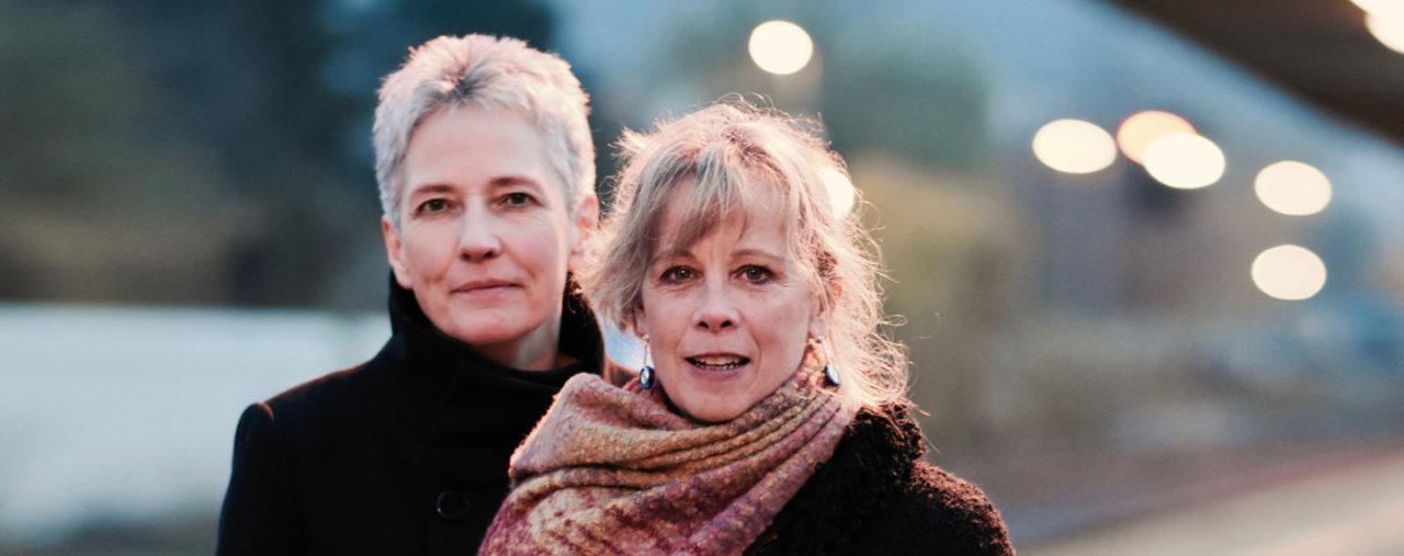 Annett Kuhr und Sue Sheehan Zwei Stimmen. Ein Konzert.Foto von Charlotte Hartwell.