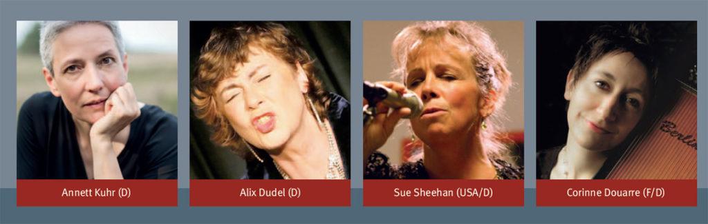 Vier Solistinnen. Ein Konzert.