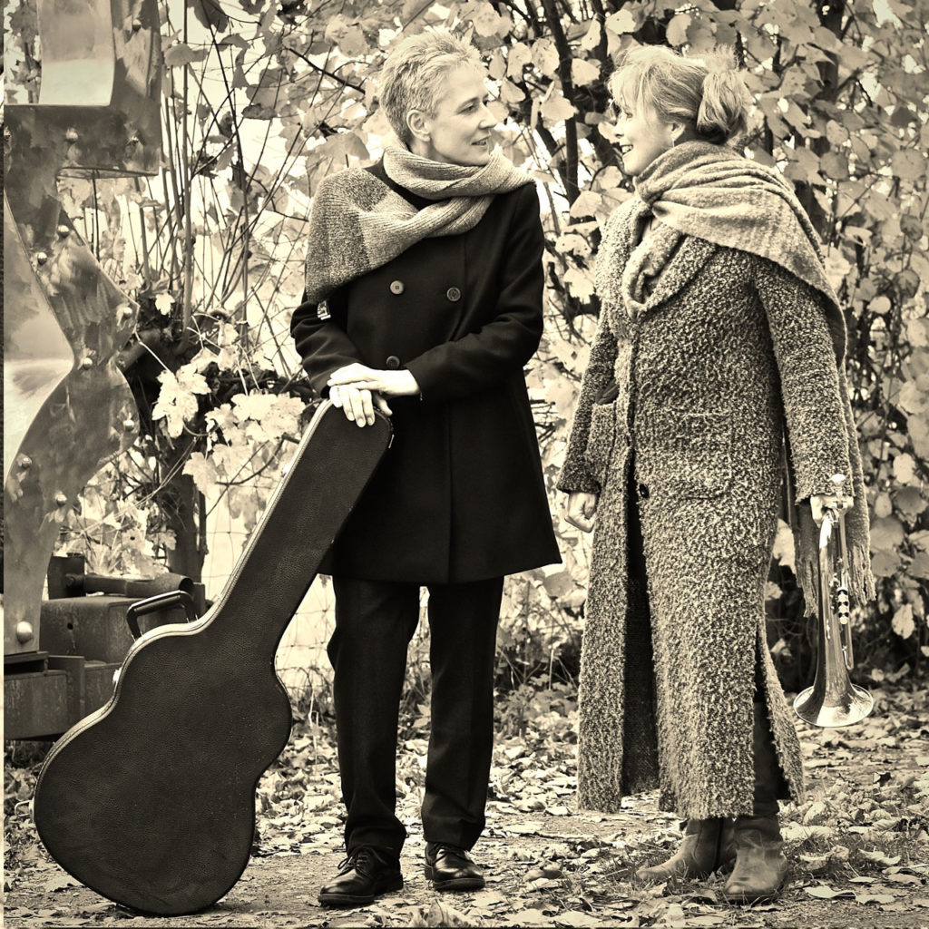 Annett Kuhr and Sue Sheehan Photo: Charlotte Hartwell Two voices. One concert.