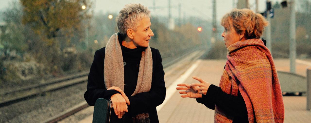 Annett Kuhr und Sue Sheehan