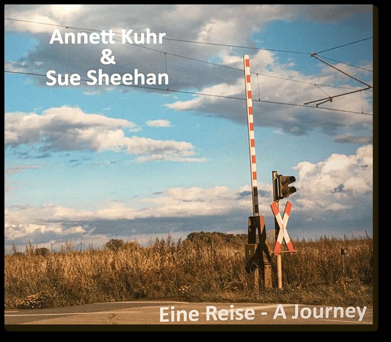 """CD-Cover, """"Eine Reise"""" von Annett Kuhr & Sue Sheehan"""